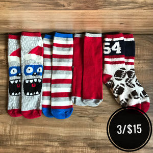 [Children's Place] 4 Pairs Winter Socks